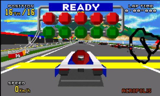 [MegaDrive 32x] Virtua racing : Deluxe 2310