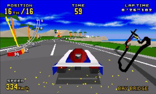 [MegaDrive 32x] Virtua racing : Deluxe 2610
