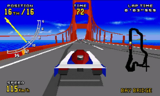 [MegaDrive 32x] Virtua racing : Deluxe 2710