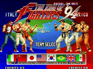 [NeoGeo] King of Fighters 94 410