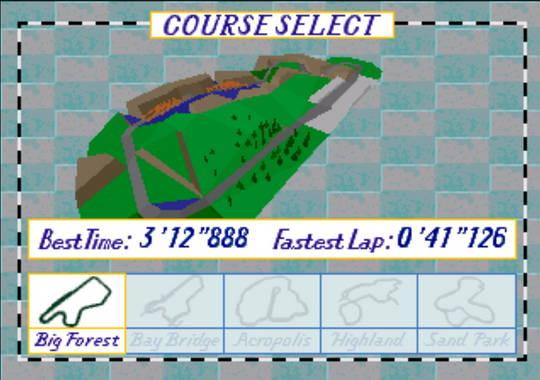 [MegaDrive 32x] Virtua racing : Deluxe 810
