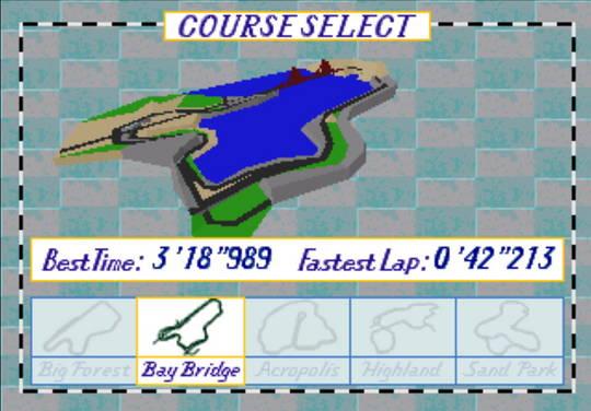 [MegaDrive 32x] Virtua racing : Deluxe 910