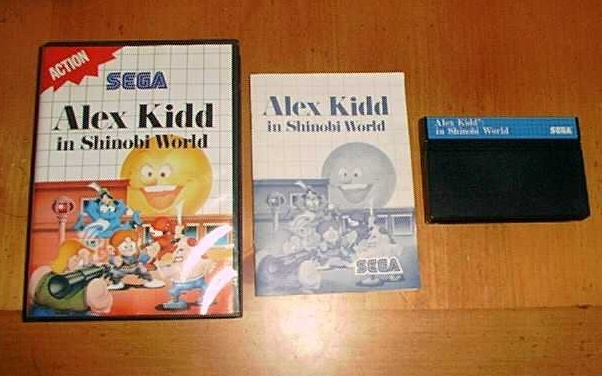 [Master System] Alex Kidd in Shinobi World Captur11