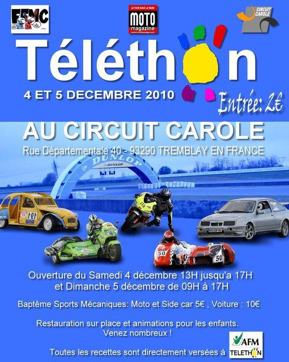TELETHON au circuit Carole ce week end !!! 15564210