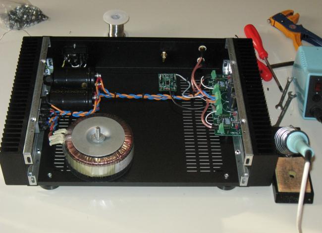 Nuovo Amplificatore HEAO (National LM4780 parallelo/ponte) - concorrenza al TA3020? - Pagina 3 Img_4911