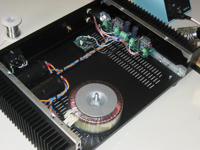 Nuovo Amplificatore HEAO (National LM4780 parallelo/ponte) - concorrenza al TA3020? - Pagina 4 Img_4912