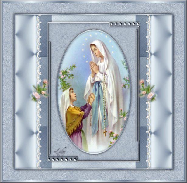 Notre Dame de Lourdes Cadre10