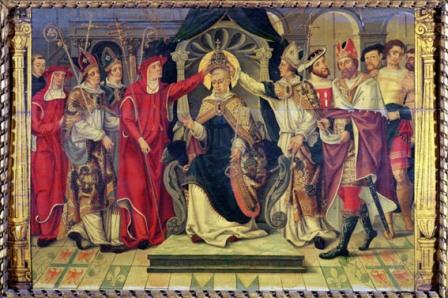 L'ermite qui devint pape ET ABDIQUA Pape_c10
