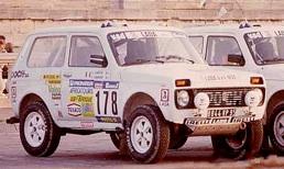 toute  l'histoire des lada de 1978 a 1995 chapeau bas Mme . Dakar811