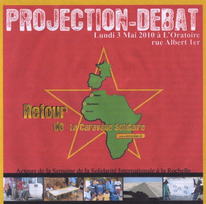 lundi 3 mai à 18h30 projection-débat retour de la caravane solidaire Hwscan12