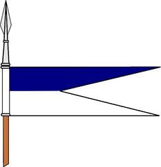 Bandeirolas das Lanças da Cavalaria Portuguesa, desde o século XIX Lanaa10