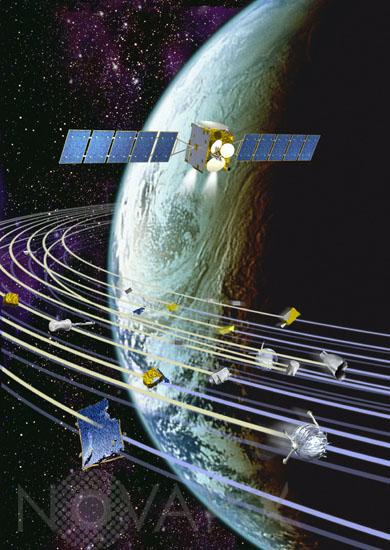 Débris spatiaux Debris10