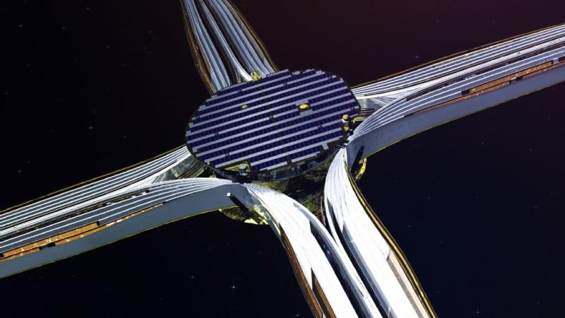 La voile solaire IKAROS Deploi10