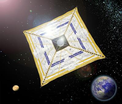 La voile solaire IKAROS Ikaros12