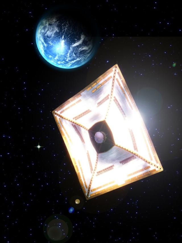 La voile solaire IKAROS Ikaros13