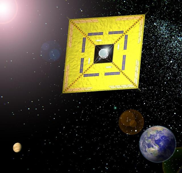 La voile solaire IKAROS - Page 2 Ikaros14