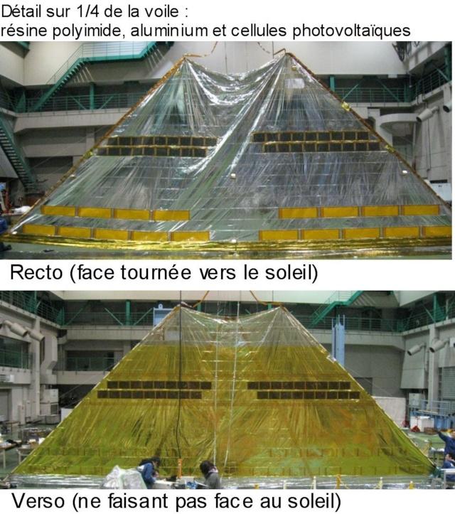 La voile solaire IKAROS - Page 7 Projet13