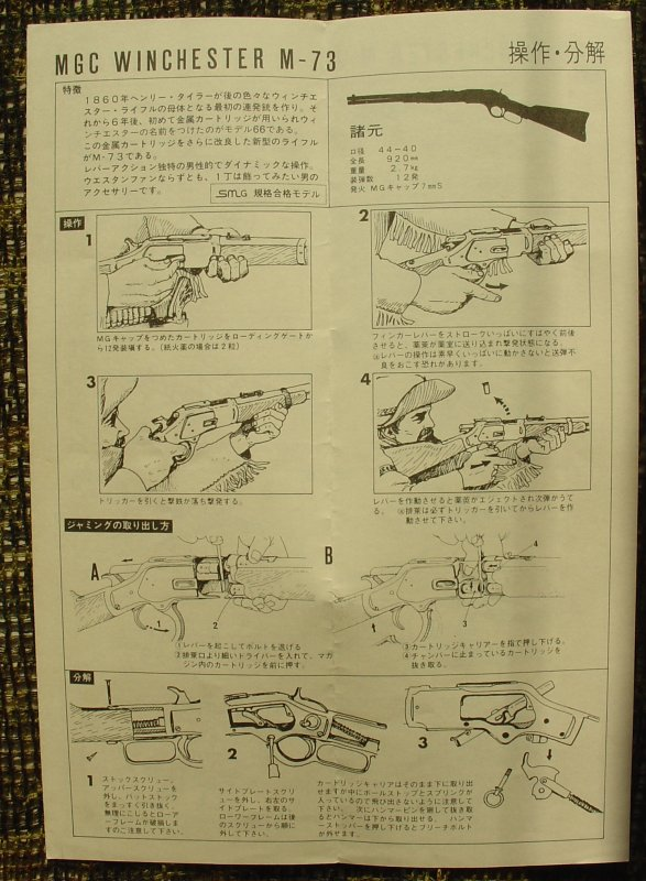 MGC Winchester M1873 Manual 15-man10