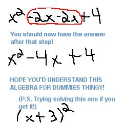 Algebra Math Tutorial 4 Dummies Algebr12