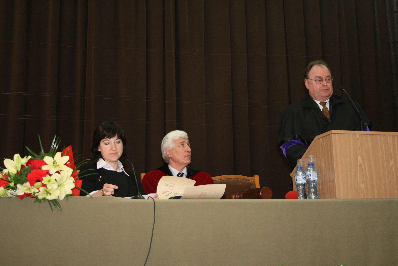 Негово Превъзходителство Г-н Томас Фелер - посланик на Конфедерация Швейцария в Република България - Doctor Honoris Causa на ЛТУ Img_9111