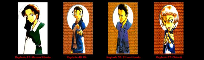 Keyholes de la organización Keyhol11