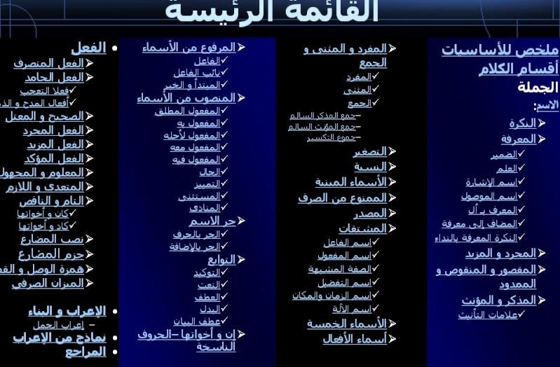 اسطوانة قواعد اللغة العربية كاملة لجميع المراحل الدراسية 113