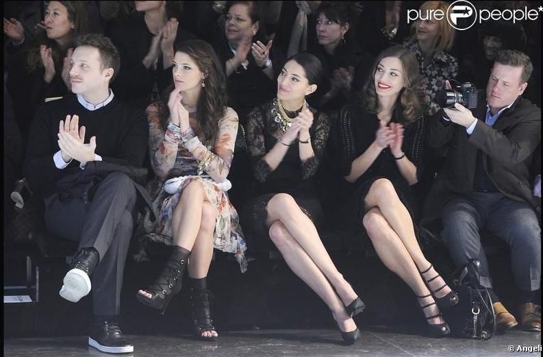 Dolce &. Gabbana Fashion Week [1/03/10] Sans_t10