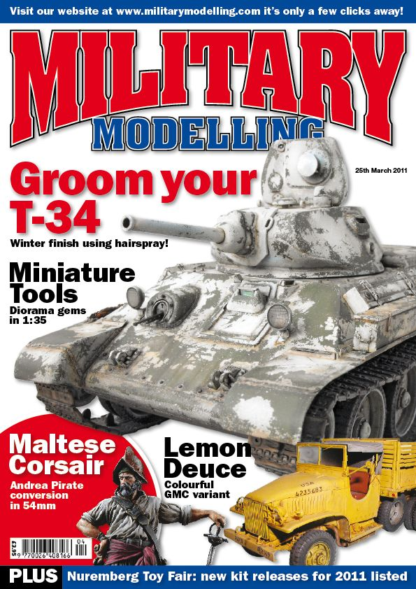 Maltese Corsair on Military Modelling March issue Mm201110