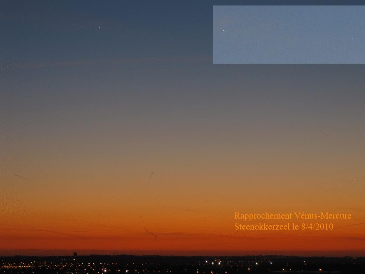 Rapprochement Venus-Mercure Mercur10