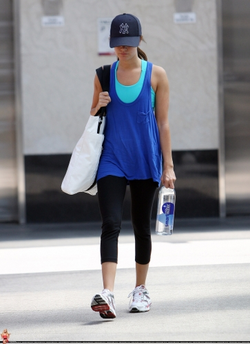 May 7 - Leaves the gym in Los Angeles Norma419