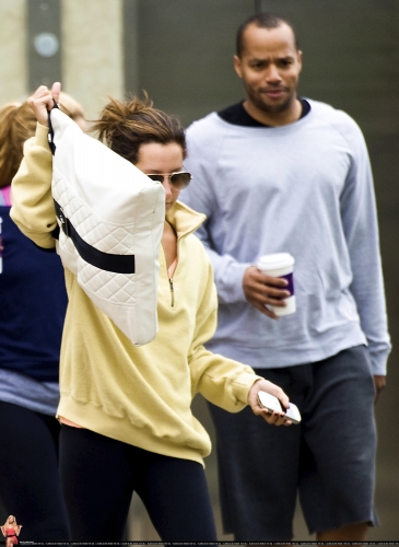May 18 - Arriving at Equinox Gym in West Hollywood Norma593