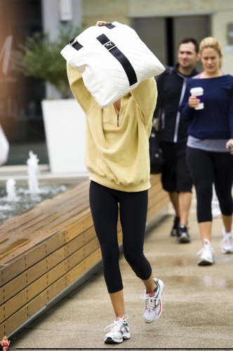 May 18 - Arriving at Equinox Gym in West Hollywood Norma597