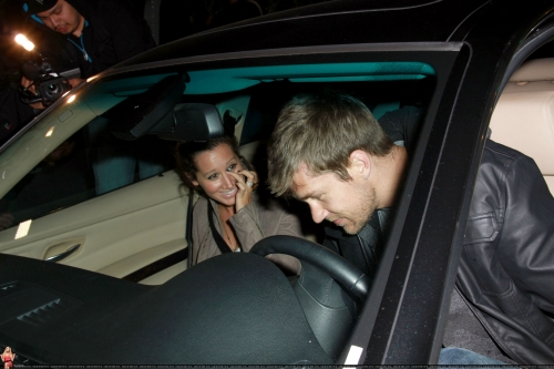 May 18 - Leaving Beso Restaurant in Hollywood with Scott Norma606