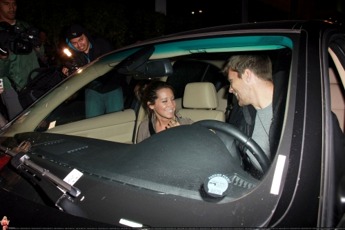 May 18 - Leaving Beso Restaurant in Hollywood with Scott Norma607