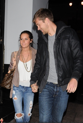 May 18 - Leaving Beso Restaurant in Hollywood with Scott Norma614