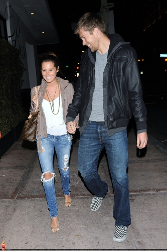 May 18 - Leaving Beso Restaurant in Hollywood with Scott Norma618
