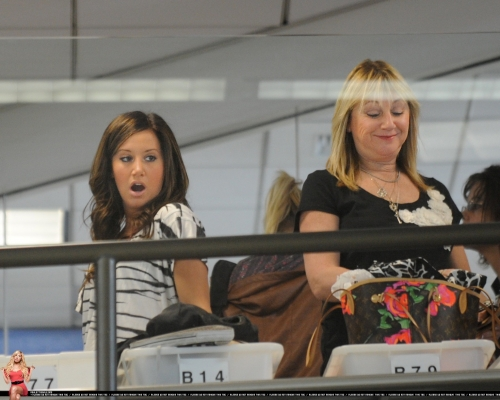 At LAX airport with her mom Norma699