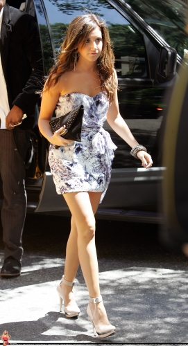 May 20 - Arriving at her hotel in New York City Norma831