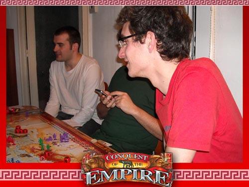 Resumen e imagenes de CONQUEST OF EMPIRES (13 de Marzo 2011) Cuatro10