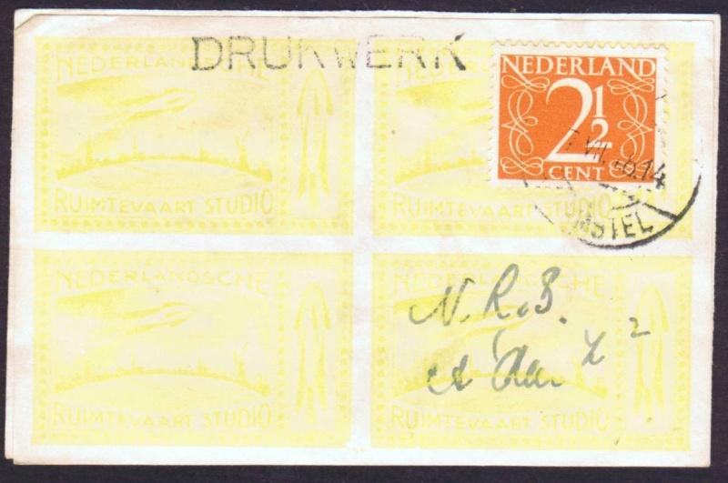 Raketenpost Niederlande deBruijn - NRS Debrui11
