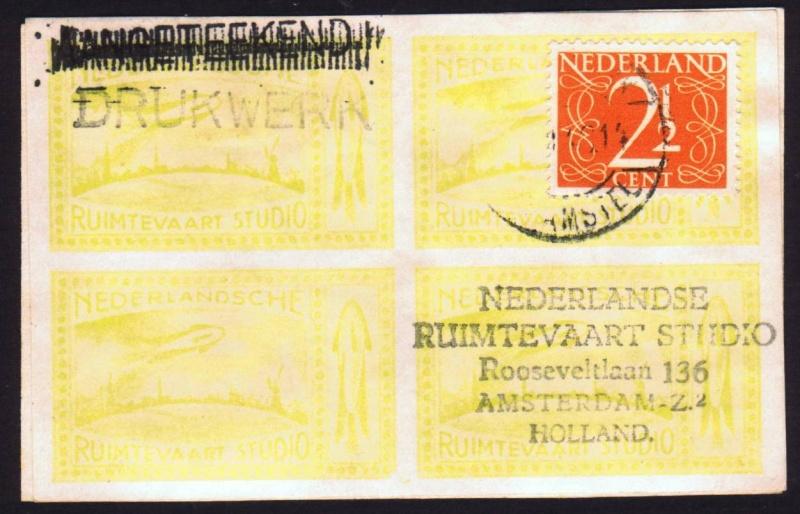 Raketenpost Niederlande deBruijn - NRS Debrui13