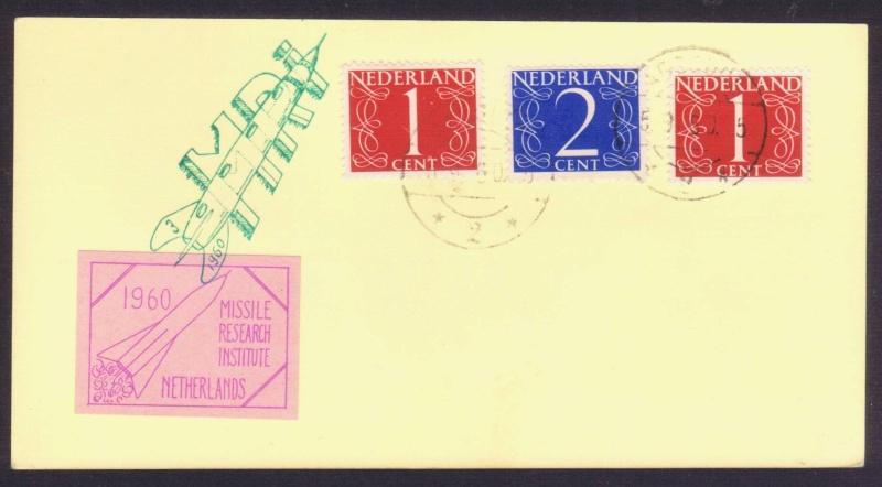 Raketenpost Niederlande deBruijn - NRS Mri_1910