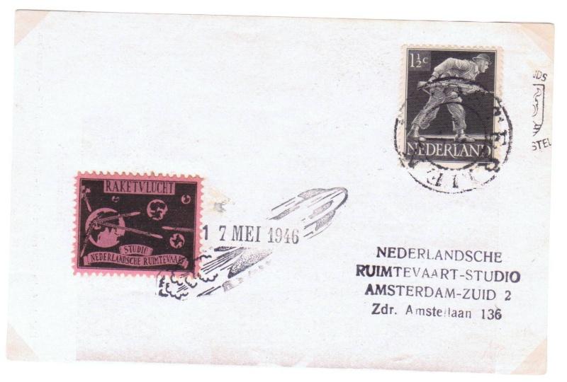 Raketenpost Niederlande deBruijn - NRS Nrs_1910