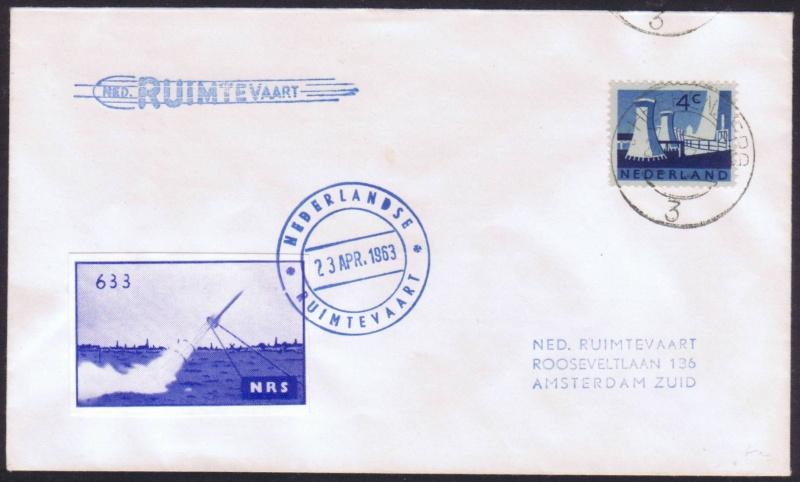 Raketenpost Niederlande deBruijn - NRS Nrs_1916