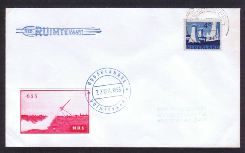 Raketenpost Niederlande deBruijn - NRS Nrs_1917