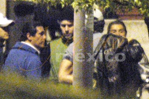 Aleja♂dro con Fernando colunga y Carlos de  la mota divirtiendose Waterm10