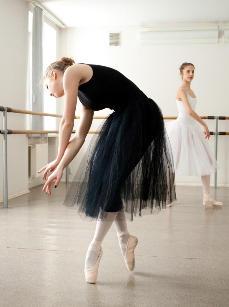 Une danseuse française à l'école du Bolchoï Michel11