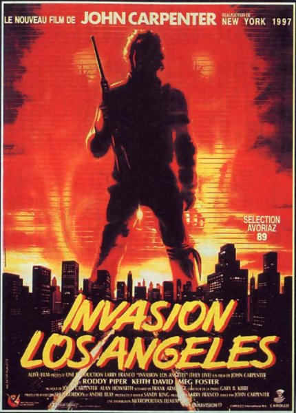 Invasion Los Angeles - They Live - 1988 - John Carpenter 709810