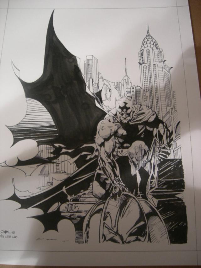 BATMAN BLACK & WHITE #12 : JIM LEE Commis13