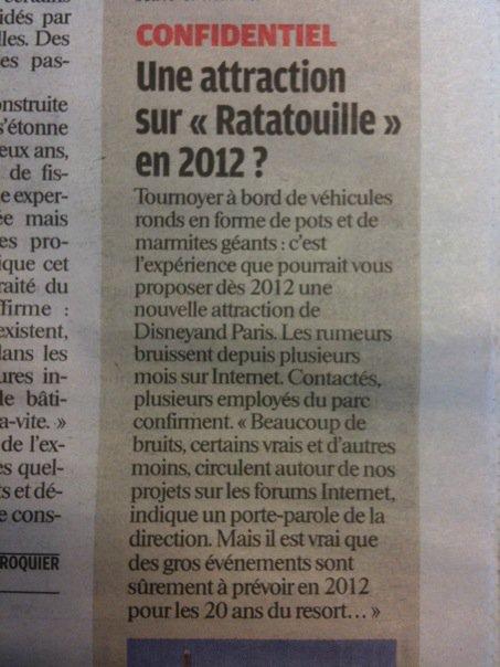 Construction du Dark Ride Ratatouille pour 2014 15304_10